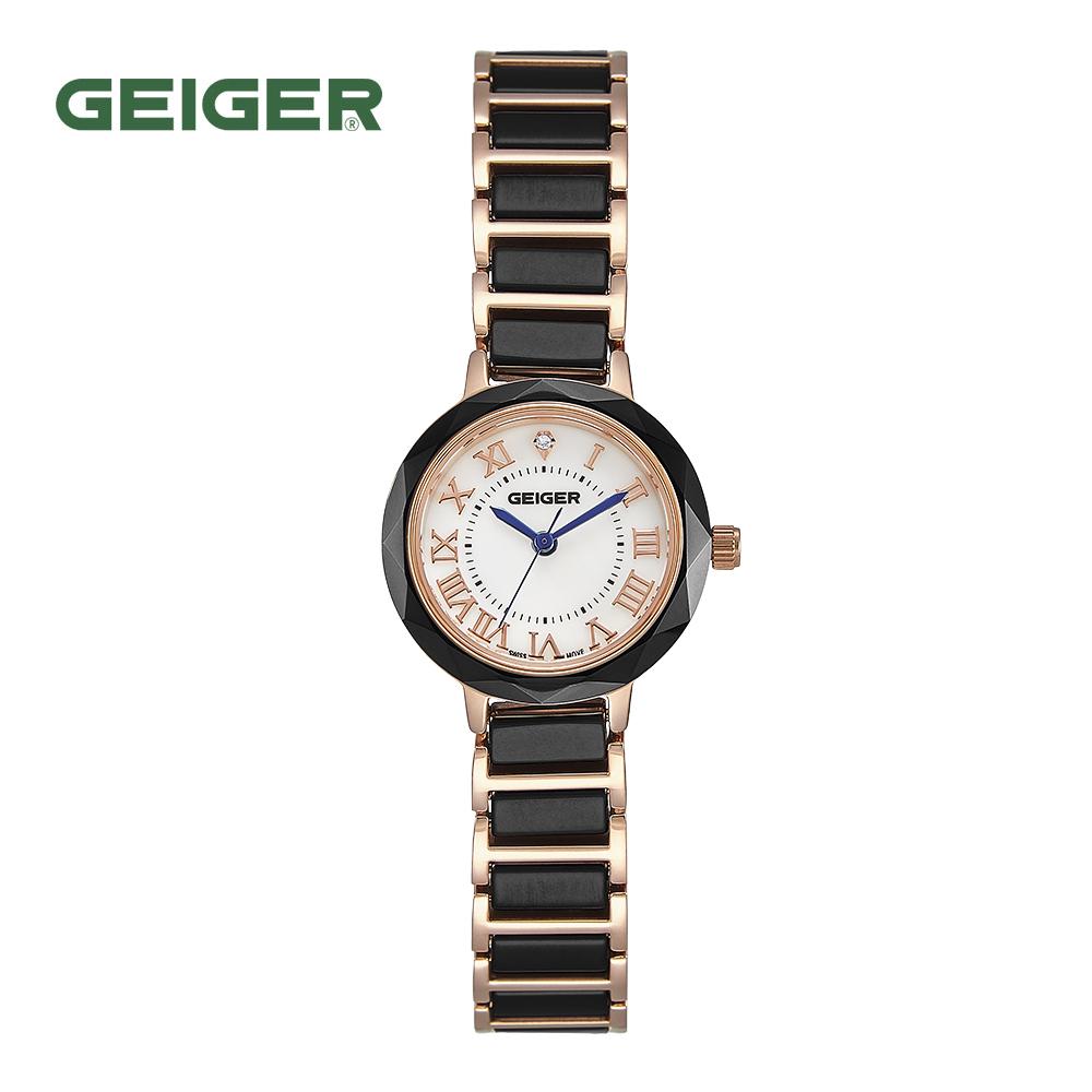 가이거 GE8039WRGB 다이아 세라믹 시계